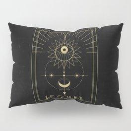 Le Soleil or The Sun Pillow Sham