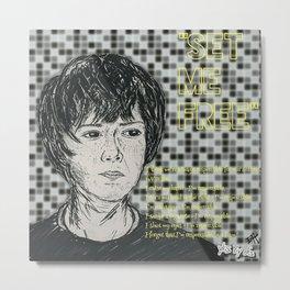 (Movie - Set Me Free) - yks by ofs珊 Metal Print