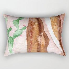Cactus and Nipple Rectangular Pillow