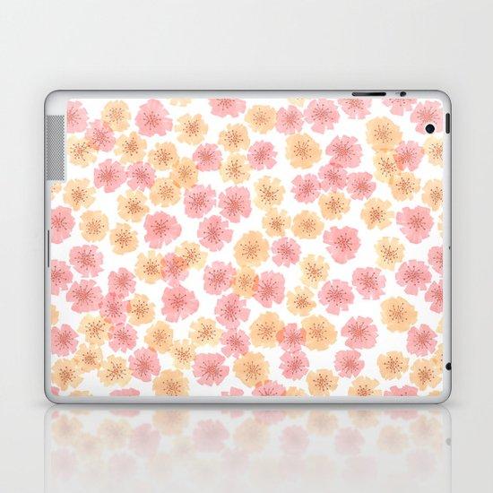 Pink Cherry Blossom  Laptop & iPad Skin