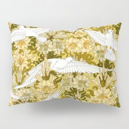 Doves and lilies Pillow Sham