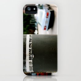 LIFT THE VEIL iPhone Case