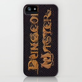 Dracoserific Dungeon Master iPhone Case