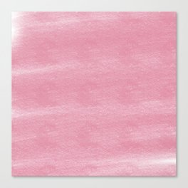 Chalky background - vintage pink Canvas Print
