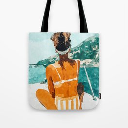Solo Traveler Tote Bag
