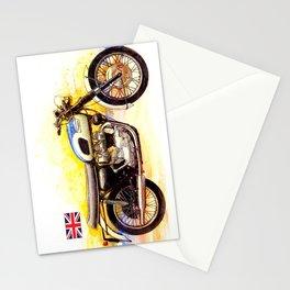 1970 Triumph Bonneville Painting Stationery Cards