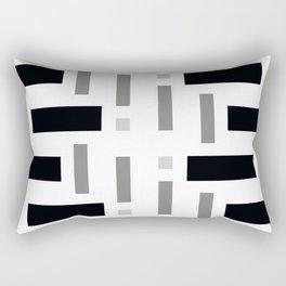 Pattern of Squares Rectangular Pillow