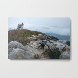 Trail to the clouds Metal Print