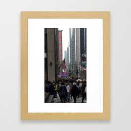 6th Avenue, NYC Framed Art Print