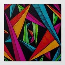 Stalactites and Stalagmites Canvas Print
