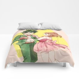 Midoriya with Uraraka loveable Comforters