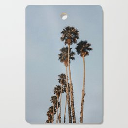 palm trees ii Cutting Board