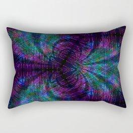 kaleidoscope lighting Rectangular Pillow