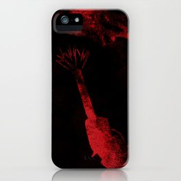 Crime story iPhone Case