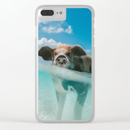 That piggy life Clear iPhone Case