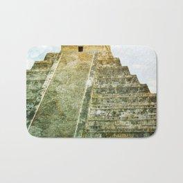 Chichen Itza pyramid Bath Mat