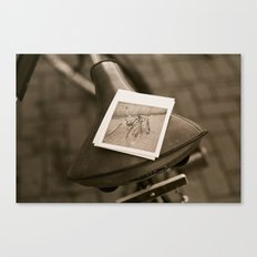 Bicycle, Cubed Canvas Print