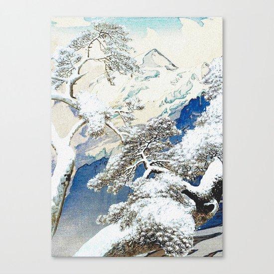 The Snows at Kenn Canvas Print