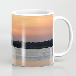 another sunset from Topsail Coffee Mug