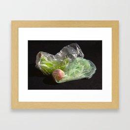 Still Life: Bagged Framed Art Print