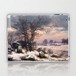 Johan Christian Dahl Winter Landscape Vordingborg Laptop & iPad Skin