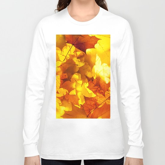 Fading Leaves Long Sleeve T-shirt