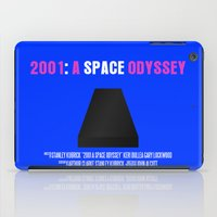 2001 a space odyssey iPad Cases featuring 2001: A Space Odyssey Movie Poster by FunnyFaceArt