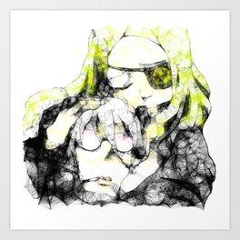 Marie and Stein Art Print