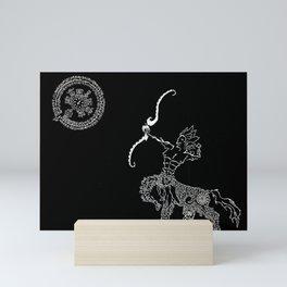 Sagittarius Zodiac Mini Art Print