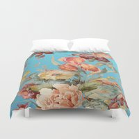 andreas preis Duvet Covers featuring shabby daze by Ariadne