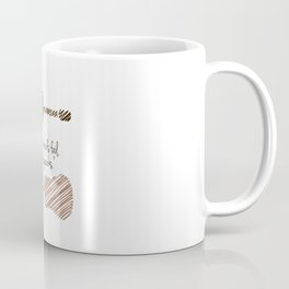 """Where words fail, music speaks."" Coffee Mug"