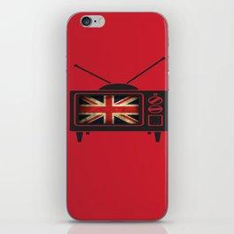 Brittish TV Takeover  iPhone Skin