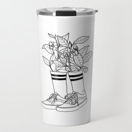 Where have all the flowers gone? Travel Mug