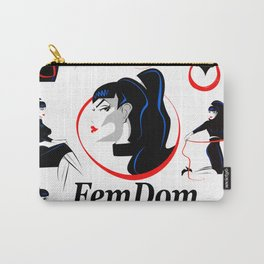 FemDom Poster Carry-All Pouch