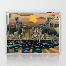 los angeles city skyline Laptop & iPad Skin