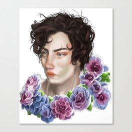 Boy Pose Canvas Print