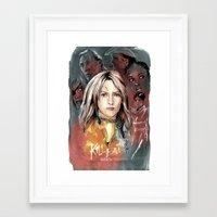 kill bill Framed Art Prints featuring Kill Bill by RJ Artworks