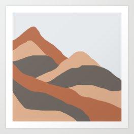 MOUNTAIN BOG Art Print