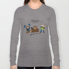 Beaver Safety Shirt! (by Steak n' Egg) Long Sleeve T-shirt