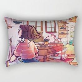 Artist Rectangular Pillow