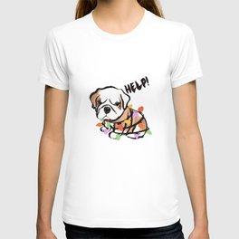 Festive puppy T-shirt