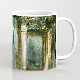 "Diego Velázquez ""View of the Garden of the Villa Medici in Rome (The Sleeping Ariadne)"" Coffee Mug"