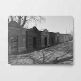 burial chambers Metal Print