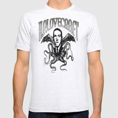 H.P. LOVECRAFT SMALL Mens Fitted Tee Ash Grey