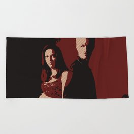 Spike & Dru Beach Towel