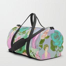 Poetic Garden Duffle Bag