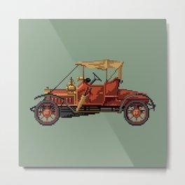 Antique car 4 Metal Print