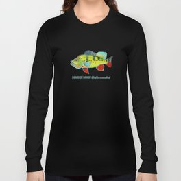 Peacock Bass Long Sleeve T-shirt