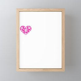 I Heart Dackels | Love Dackel Dog Breeds Framed Mini Art Print