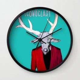 ICONOCLAST DEER MAN Wall Clock